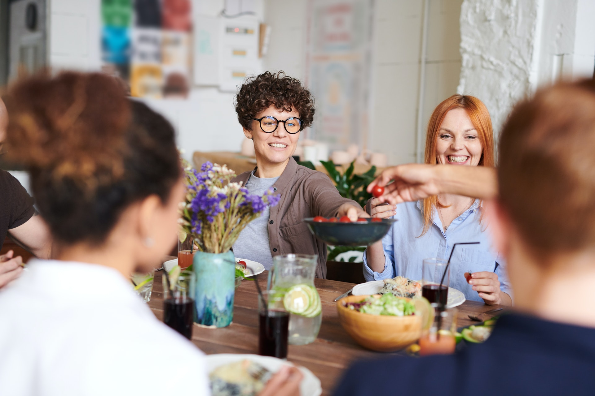 Um jantar vegano para amigos é tudo menos sem graça