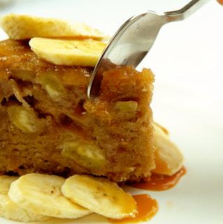 banana caramelizada