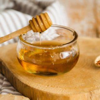 molho de mel e pimenta